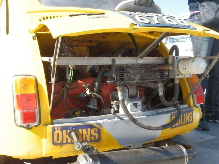 Fiat 500 super engine