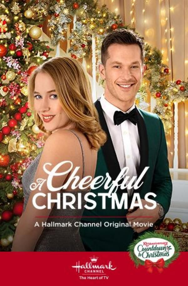 A Cheerful Christmas 2019 With Chad Connell Erica Deutschman Movie Christmas Movie In 2020 Hallmark Channel Holiday Movie Hallmark Movies