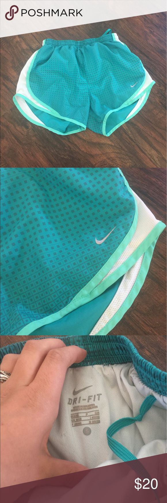 Nike dri-fit shorts Nike dri-fit summer, exercising, running, home life. Shorts. You can wear them any wear. Very comfy! Pictures show it all Nike Shorts