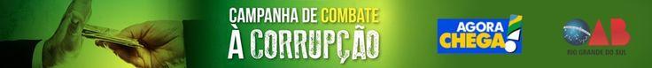 BANNER - Campanha de Combate à Corrupção: Manifesto à Sociedade Brasileira - OAB/RS