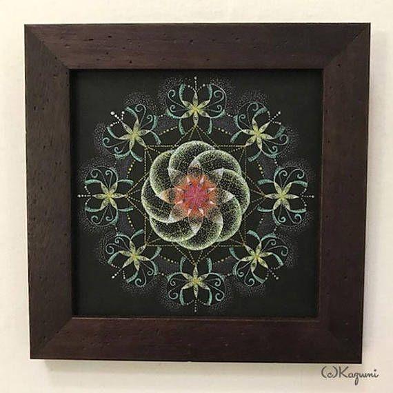 Stipple Mandala  Invigorating