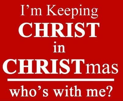 Jesus is the reason for the season!!!