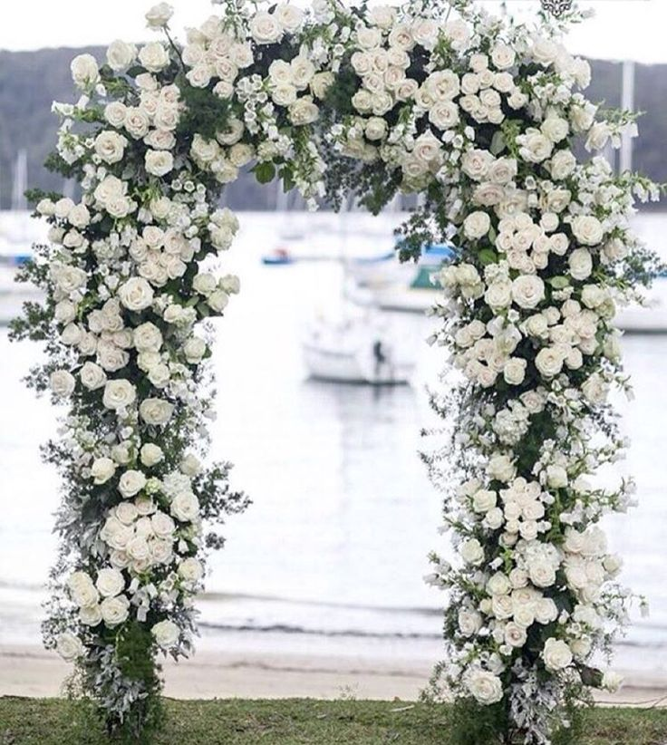 196 best Floral arches images on Pinterest   Ceremony arch, Dream ...
