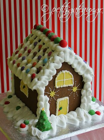 Gingerbread Christmas house!