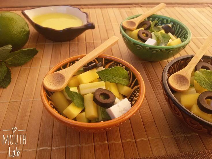 Insalata+di+Mango,+Primo+Sale+e+Zucchine