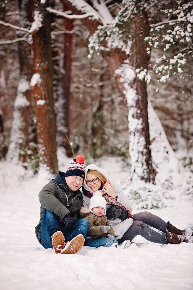 Sesja rodzinna w śniegu | Snow family session