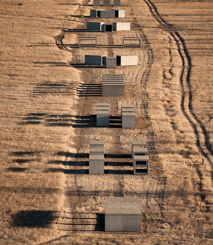 Marfa, Texas, by Donald Judd