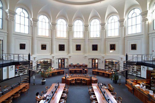 University Library (Albertina), Leipzig / ©Christoph Seelbach