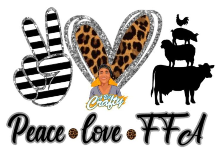 Download Peace, Love, Animals svg/png/sublimation/digital download ...