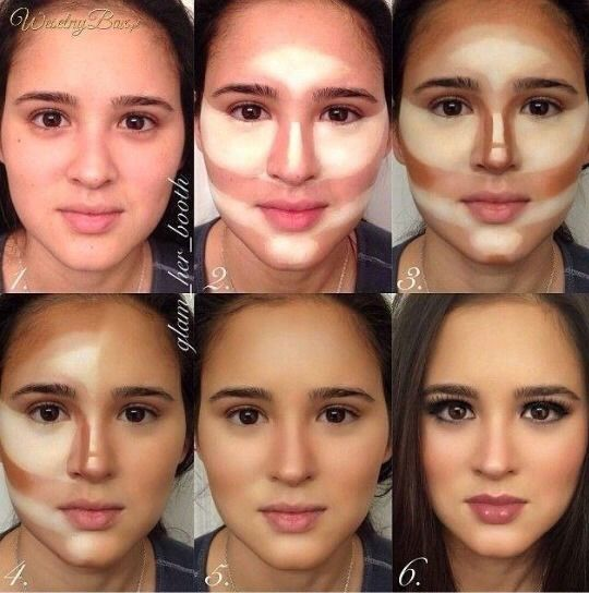 Perfect Contour Makeup.