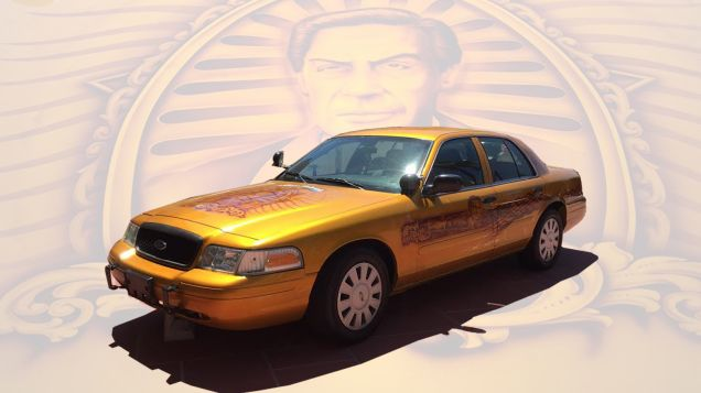 The Jerry Orbach Art Car Is Now A Reality