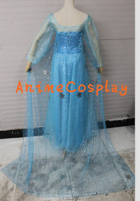 disney princess 2013 neue disney filme gefroren schneek nigin elsa cosplay kost m classic. Black Bedroom Furniture Sets. Home Design Ideas
