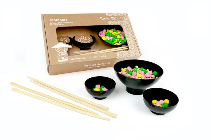 Una sfida a colpi di bacchette! Divertentissimo!  http://www.milaniwood.com/products/107-il-gioco-del-riso-alla-cantonese-gioco-di-societa-in-legno-milaniwoodcom.aspx