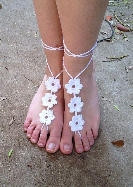 Beach Sandals: Crochet Beach Sandals Patterns Free