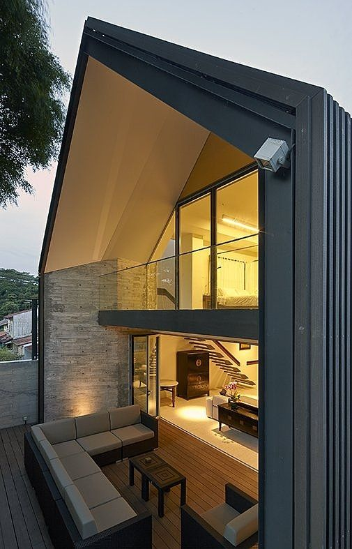 Y House Is A Modern Living Space That Located In A Beautiful Residential  Area Of Singapore. This Stunning Modern Style Home Design Is Designed By  ONGu0026 ONG Design Ideas