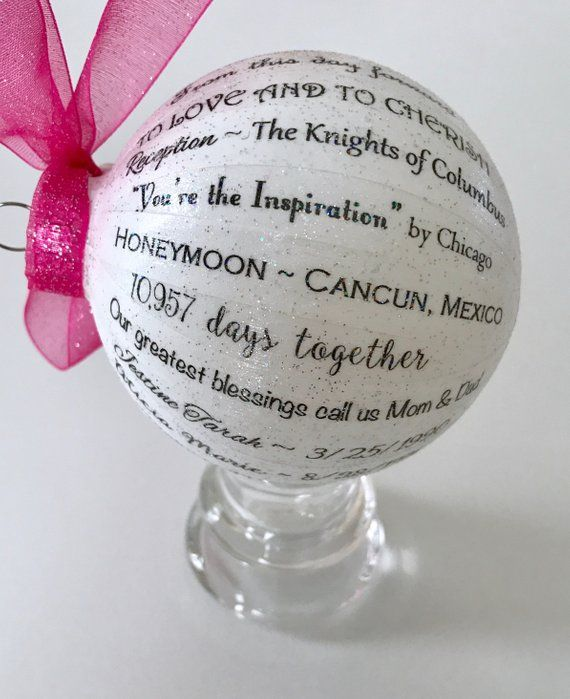 60th Wedding Anniversary Gifts For Friends: 30th Anniversary Gift For Parents/Friends