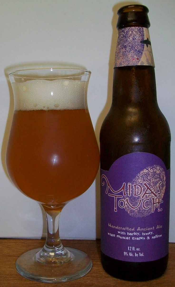 Dogfish Head Midas Touch.  This is a pretty excellent #beer! @Dogfish Head Alehouse