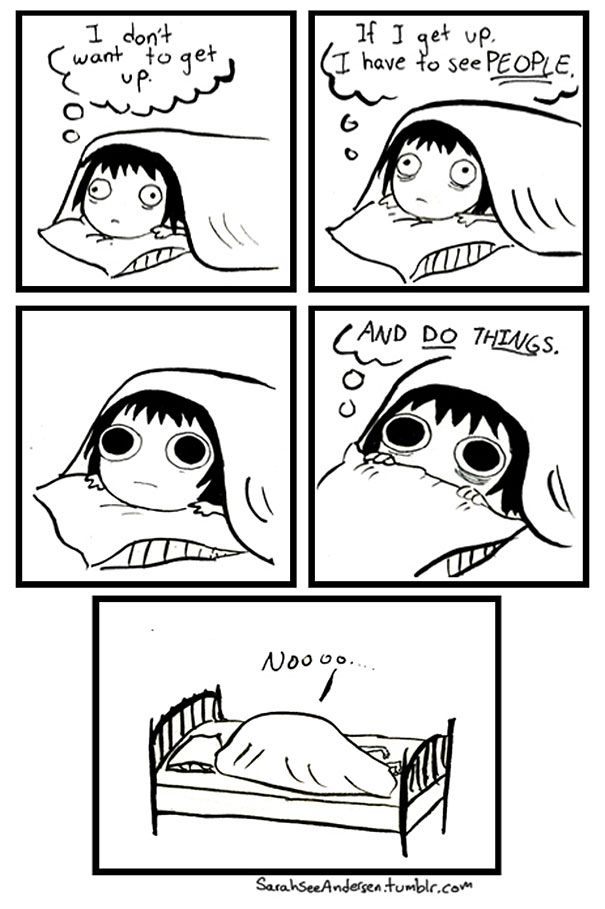 Women's Problems And Everyday Lives In Hilariously Honest Comics by Sarah Andersen