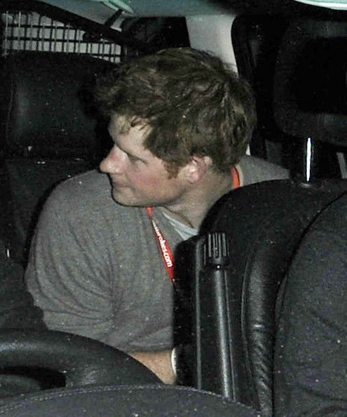 Prince Harry Photos  - Prince Harry Leaves the World Darts Championship in London - Zimbio
