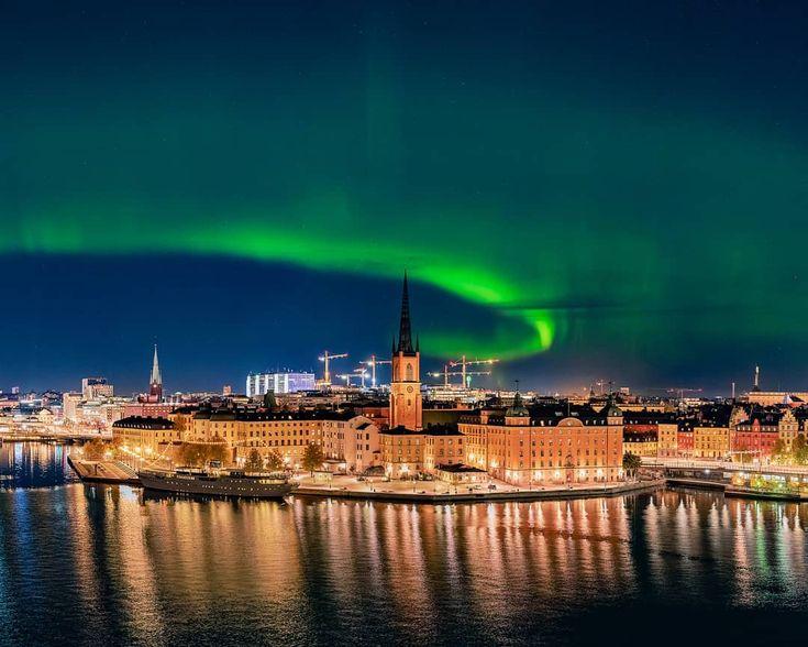十月,北歐極光之旅就可以啓程了