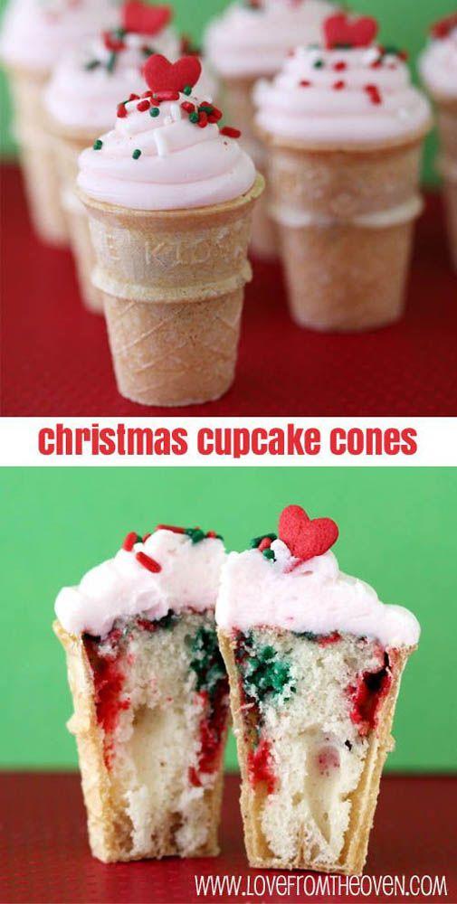 19 Incredibly Cute Christmas Cupcakes