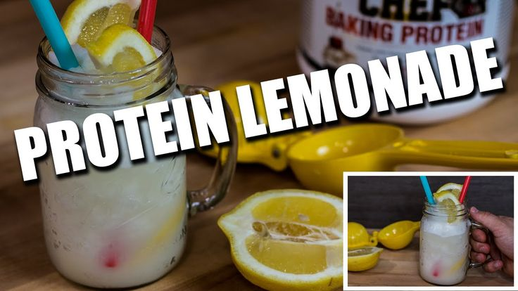 Super Healthy Low Sugar Protein Lemonade Recipe Video