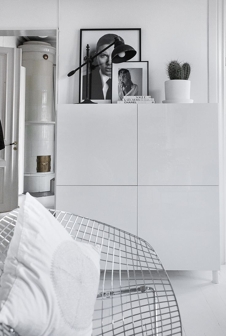 Besta | Ikea | Home | Storage | Living | DIY | Only Deco Love | Inspiring Homes | White heaven by Kristin Sundberg