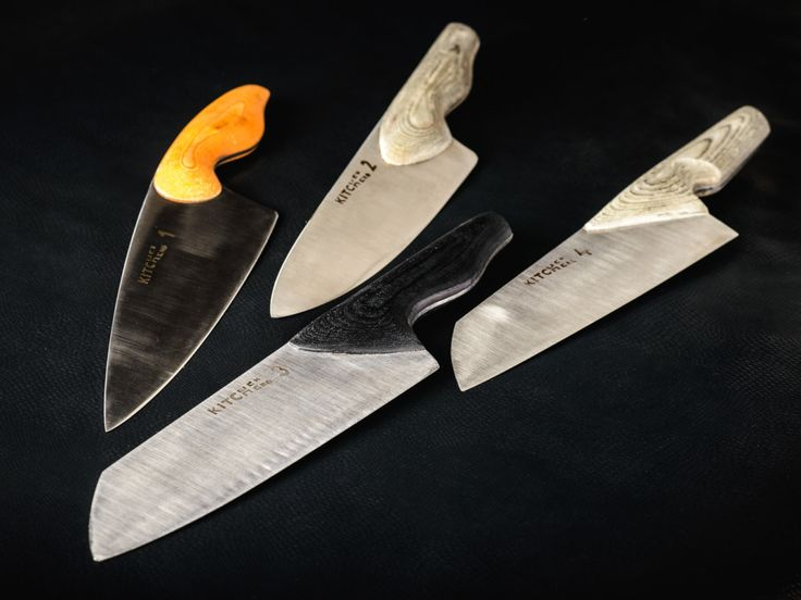 Set of chef knives