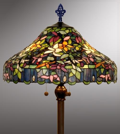 15 best stained glass images on pinterest tiffany lamps night 208 floor lamp would never buy it but i love tiffany style with these colors audiocablefo