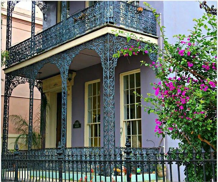 Beautiful Wrought Iron Balconies Travels Wanderer