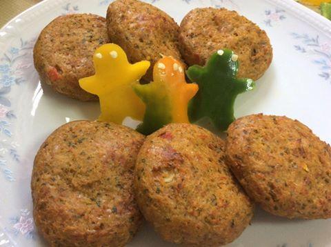 Μπιφτεκάκια λαχανικών(2 μονάδες ) – Η δίαιτα των μονάδων