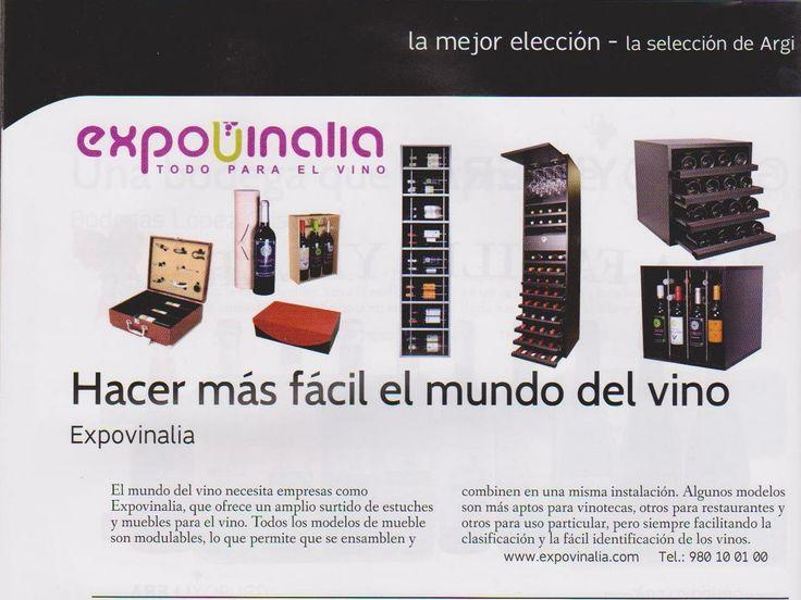 Expovinalia una vez mas dentro del mundo del vino esta vez en la Revista Argi la revista de Castilla y Leon
