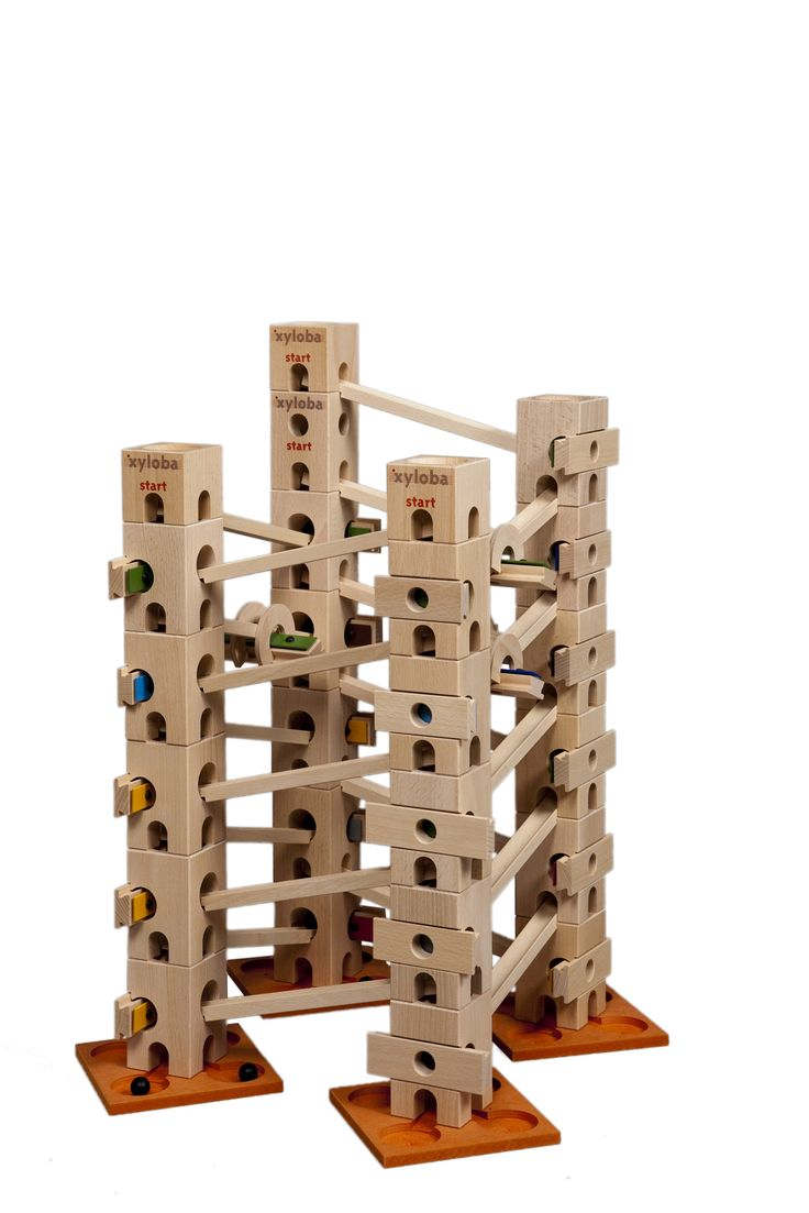 Xyloba Wooden Marble Run