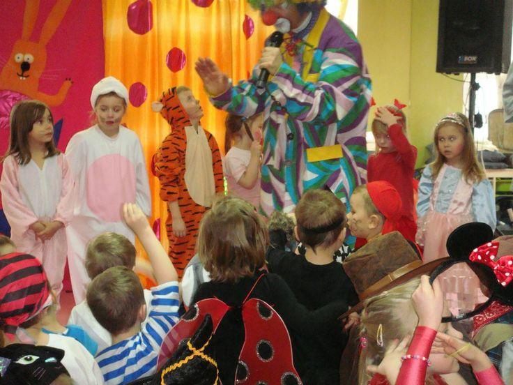 Carnival Ball in kindergarten