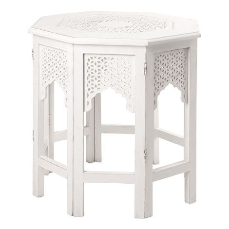Small octagonal table zara home united arab emirates for Table zara home