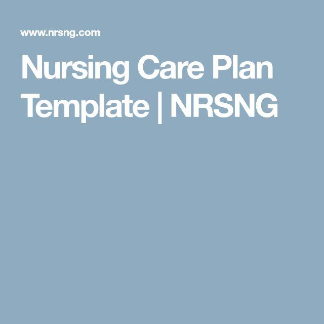 Best 25+ Nursing care plan ideas on Pinterest Care plans - nursing care plan example