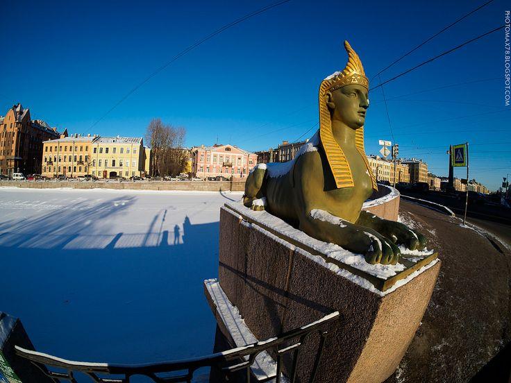 https://flic.kr/p/RYoK5W | Sphinx in the snow | Интересно, а сфинксам холодно зимой? ;) Interestingly, and sphinxes are cold in the winter? ;)