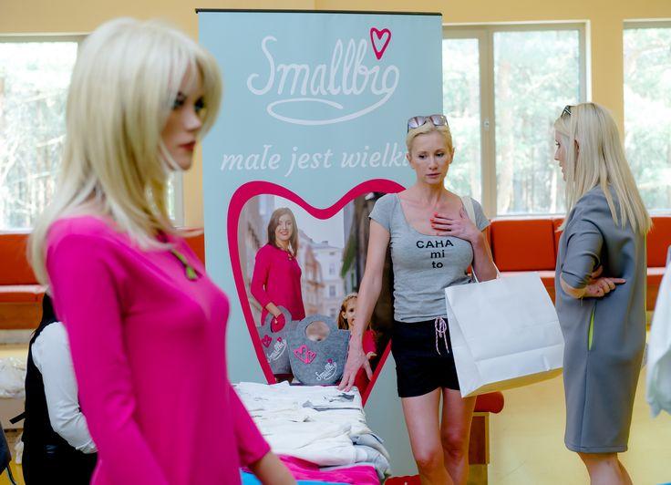 Ewa Gawryluk w showroomie Smallbig