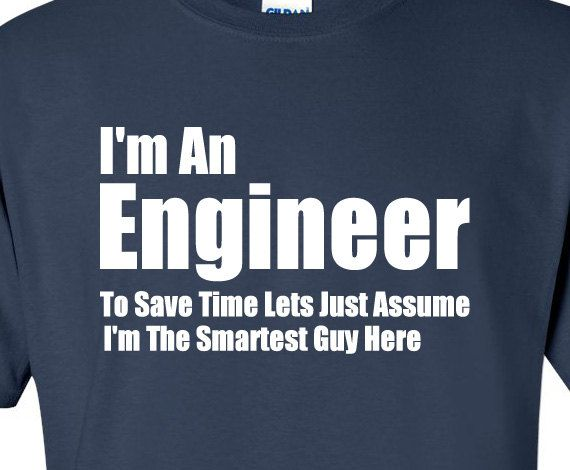 I'm An Engineer Men's T-shirt  Men Clothing Shirt Tee Shirt T Shirt Funny Engineering Shirt Gift For Engineer Father's Day Gift Nerd