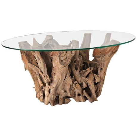 Arteriors Home Driftwood Elipse Table http://www.lampsplus.com/products/arteriors-home-driftwood-elipse-table__r8532.html# #lampsplus  #mystyle