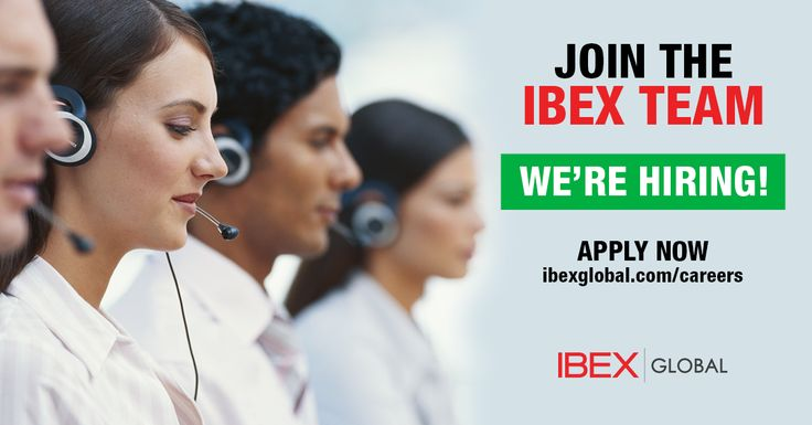 IBEX Global is Now Hiring Customer Service Reps! -   Join our Team IBEX Today & Grow in your Career.  #IBEXGLOBAL #CSR #JOBS