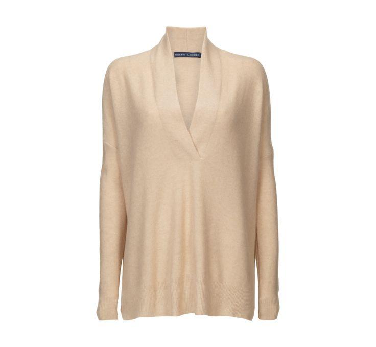 Ralph Lauren Blue Label Oversize-Pullover aus reinem Kaschmir - P&C