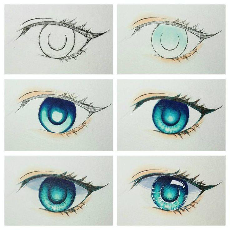 431 best Anime Eyes Tutorial images on Pinterest ...  431 best Anime ...