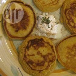 Foto recept: Zoete aardappelpannenkoeken