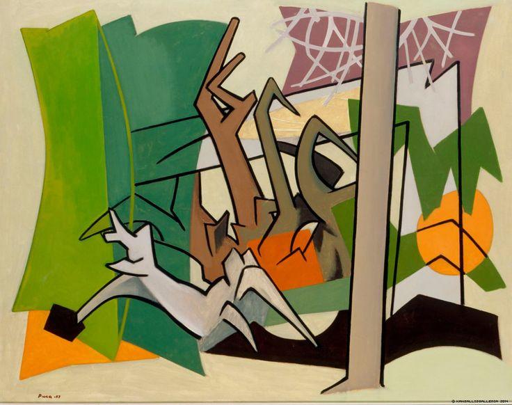 Unto Pusa. Metsä (1957)