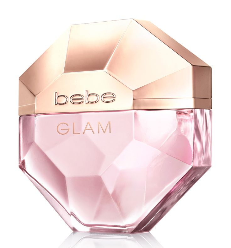 Bebe Glam ~ Glam is made of floral aromas, exotic fruits and woods. It opens with accords of mandarin, bergamot, blackberry and boysenberry. The floral heart includes notes of freesia, lily of the valley, iris and violet, while the intensive base captures sultry woods, musk and sugar crystals. It is developed by Richard Herpin.