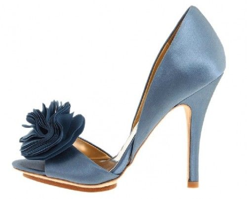 Peep-toe-ligh-blue-wedding-shoes-floral-high-heel_cute