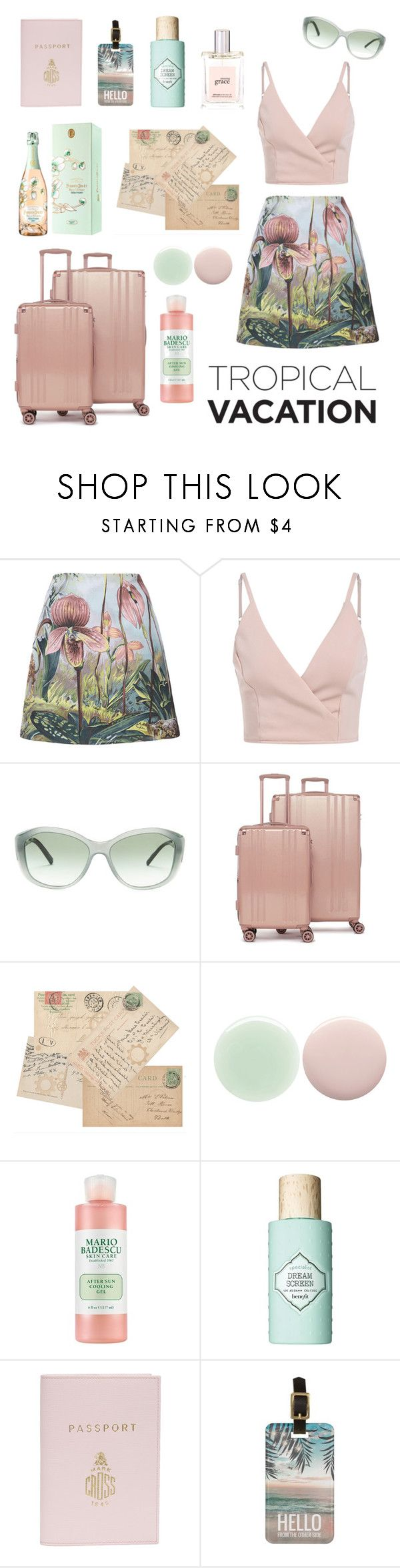 """""""Untitled #96"""" by shelleycox25 ❤ liked on Polyvore featuring ADAM, Burberry, CalPak, Nails Inc., Benefit, Mark Cross and philosophy"""