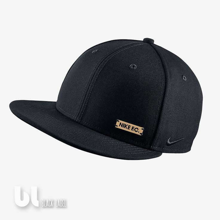 Nike F.c. True Snap Back Unisex Kappe Damen Herren Kinder Mütze Schwarz Kappe in Kleidung & Accessoires, Herren-Accessoires, Hüte & Mützen | eBay!