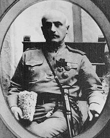 Daniel Bek-Pirumyan (Armenian: Դանիել բեկ-Փիրումյան; 22 November 1861 – 1921) was a famed Armenian military commander and national hero. He was the top commander of the Battle of Sardarabad.